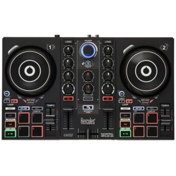 CONTROLADOR PARA DJ 2CH INPULSE 200 – HERCULES-3