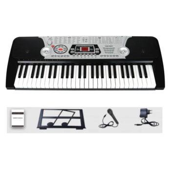 TECLADO ELECTRÓNICO 54 TECLAS + MICRÓFONO XY-268 MP3 – XY-4