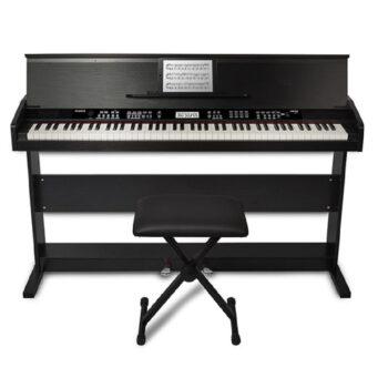 PIANO DIGITAL DE 88 TECLAS C/SOPORTE Y ASIENTO – ALESIS-4