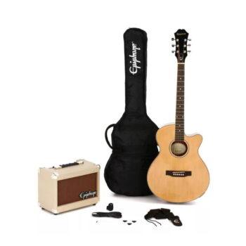 KIT COMBO GUITARRA ELECTRO ACÚSTICA + AMPLIF. PLAYER PACK – EPIPHONE-2