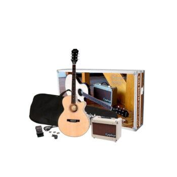KIT COMBO GUITARRA ELECTRO ACÚSTICA + AMPLIF. PLAYER PACK – EPIPHONE-1