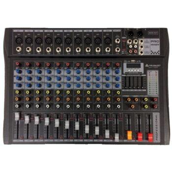 CONSOLA DE 12 CANALES USB BT FX QXT-1202 – ITALY AUDIO-2