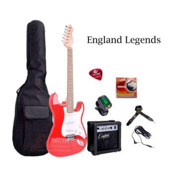 Kit-Guitarra-Electrica-England-Legends-Rojo