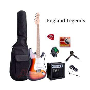 Kit-Guitarra-Electrica-England-Legends-Sumburst